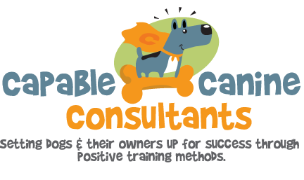 Capable Canine Consultants Dog Training Logo